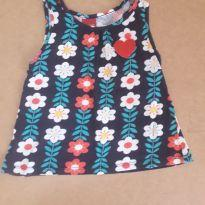 BLUSA FLORES KYLY TAM 6 - 4 anos - Kyly