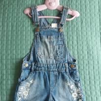Jardinheira jeans - 4 anos - Palomino