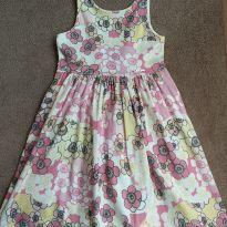 Vestido Floral - 5 anos - Não informada