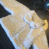 Casaco de pele branco - 2 anos - Bebelândia