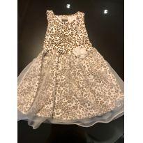 Vestido Oncinha Milon - Tamanho 3 - 3 anos - Milon