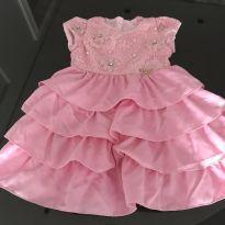 Vestido festa bordado - 2 anos - Miss Sweet