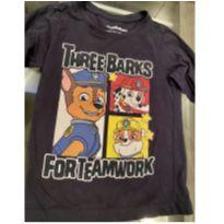 Camiseta manga longa Patrulha canina - 3 anos - Riachuelo