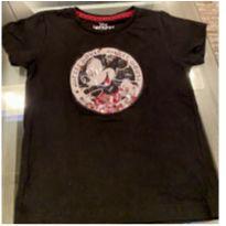 Camiseta preta Mickey - 3 anos - Disney