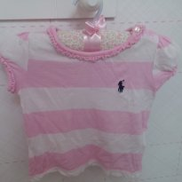 Blusinha top - 9 meses - Polo
