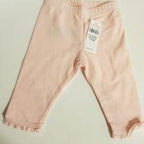 Calça GAP 0-3 meses menina rosa - 0 a 3 meses - Baby Gap
