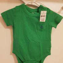 Body menino Baby Gap tamanho 0-3meses - 0 a 3 meses - Baby Gap