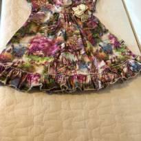 Vestido - Menina - 12 a 18 meses - Kiki Xodó