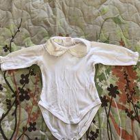 Body - Usado debaixo da saída da maternidade - 0 a 3 meses - Trousseau