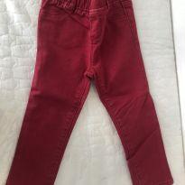 Calça Vermelha GAP jeans - Tamanho 3 anos - 3 anos - Baby Gap