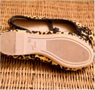 Sapatilha de oncinha com elástico Zara - 26 - Zara