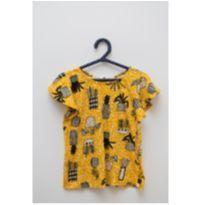 Camiseta amarela estampada Fábula - 6 anos - Fábula