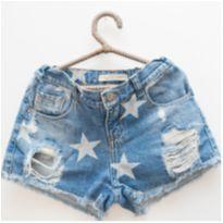 Short jeans estrelado Palomino - 8 anos - Palomino
