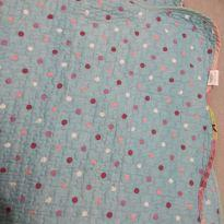 colcha dupla face mini cama menina medida 100x 180 cm -  - etna
