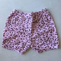 Shortinho rosa - 6 a 9 meses - Tilele Baby