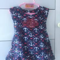 Vestido Marinheira - 6 a 9 meses - Lilica Ripilica