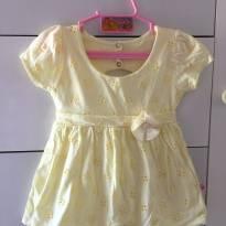 Vestido com Florzinha - 1 ano - Abrange