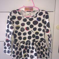 Blusa de Bolinha - 2 anos - Malwee