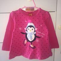 Blusa de Pinguim - 2 anos - Kyly