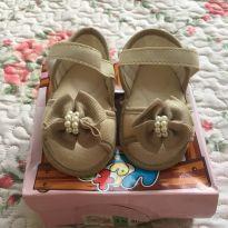 Sandália Dourada - 15 - Keto Baby