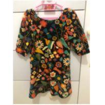 Vestido Florido Fábula - 2 anos - Fábula