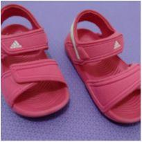 Sandália Rosa Adidas - 23 - Adidas