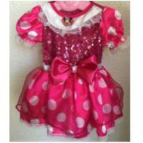 Vestido da minie rosa - 9 a 12 meses - Disney baby