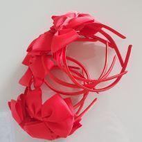 7 tiaras vermelho -  - Importada