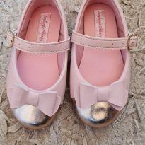 Sapatilha rosa - 20 - Sonho de Criança