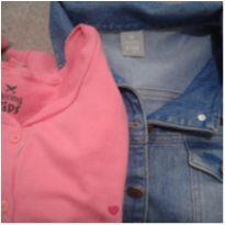 2 peças por R$ 80, uma jaqueta Jeans e um casaco Hering Kids em ótimo estado!!! - 8 anos - Hering Kids
