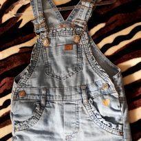 Jardineira Jeans Baby club - 1 ano - Baby Club