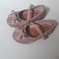 Sapato com brilho - 22 - Addan Baby