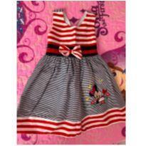 Vestido Minnie - 18 a 24 meses - Não informada