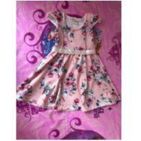 Vestido rosa - 1 ano - Picnic