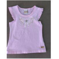 Blusa rosinha - 2 anos - Picnic