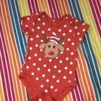 Body de natal - 12 a 18 meses - Baby Club e Baby clube