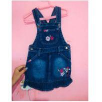 Jardineira jeans minnie - 2 anos - Disney