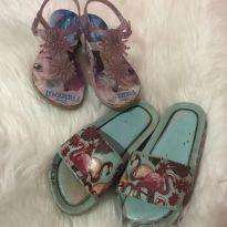 Sandálias e chinelo melissa - 25 - Mini Melissa original