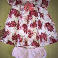 Vestido Lindooooooo - 6 a 9 meses - Paraíso
