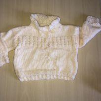 Blusa de la quentinha para menina - 6 meses - Não informada