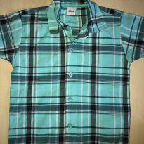 Camisa xadrez para menino - 4 anos - Elian