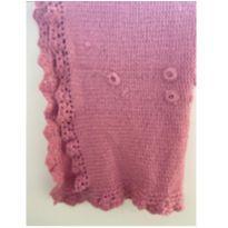 Manta em tricot artesanal -  - Sem marca
