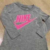 Camiseta Manga Longa Nike - Tam 12 meses