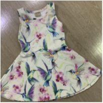 Vestidinho Milon floral nunca usado- TAM 4 - 4 anos - Milon