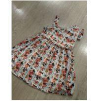Vestido floral Zara Kids - TAM.5 nunca usado - 5 anos - Zara