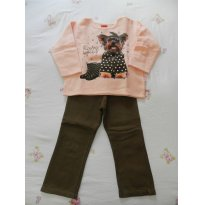 Conjunto Yorkshire Inverno - 3 anos - Kyly