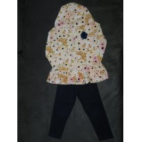 Conjunto Kyly Flores Inverno - 3 anos - Kyly
