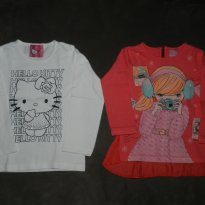 Kit Camisetas Passeio Inverno - 3 anos - Várias