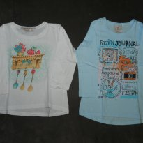 Kit Camisetas Up Baby Inverno - 3 anos - Up Baby