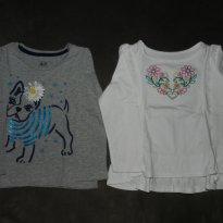 Kit Camisetas GAP Inverno - 3 anos - Baby Gap